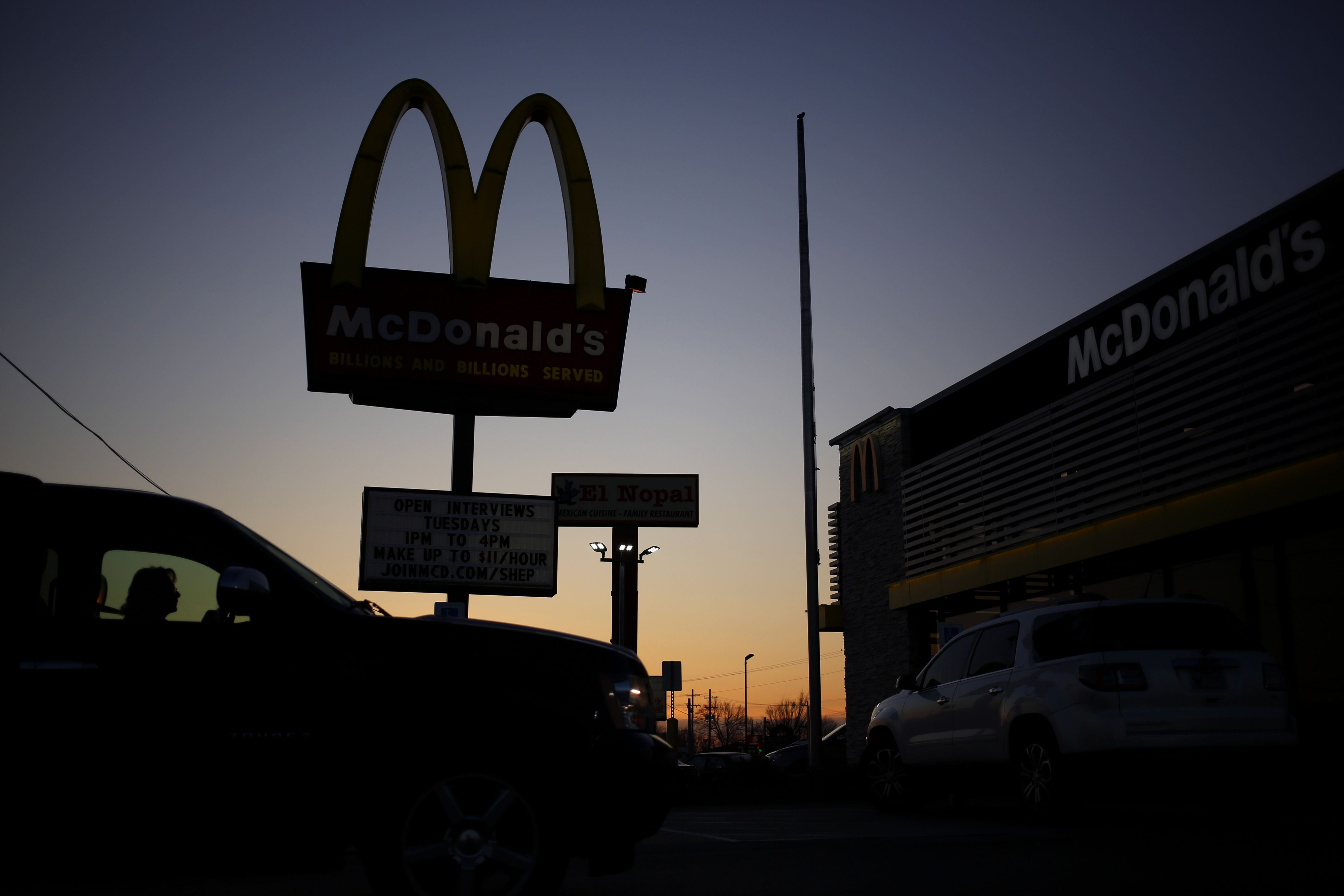 Earnings season sees some big whiffs on Tuesday with McDonalds, UPS and Lockheed