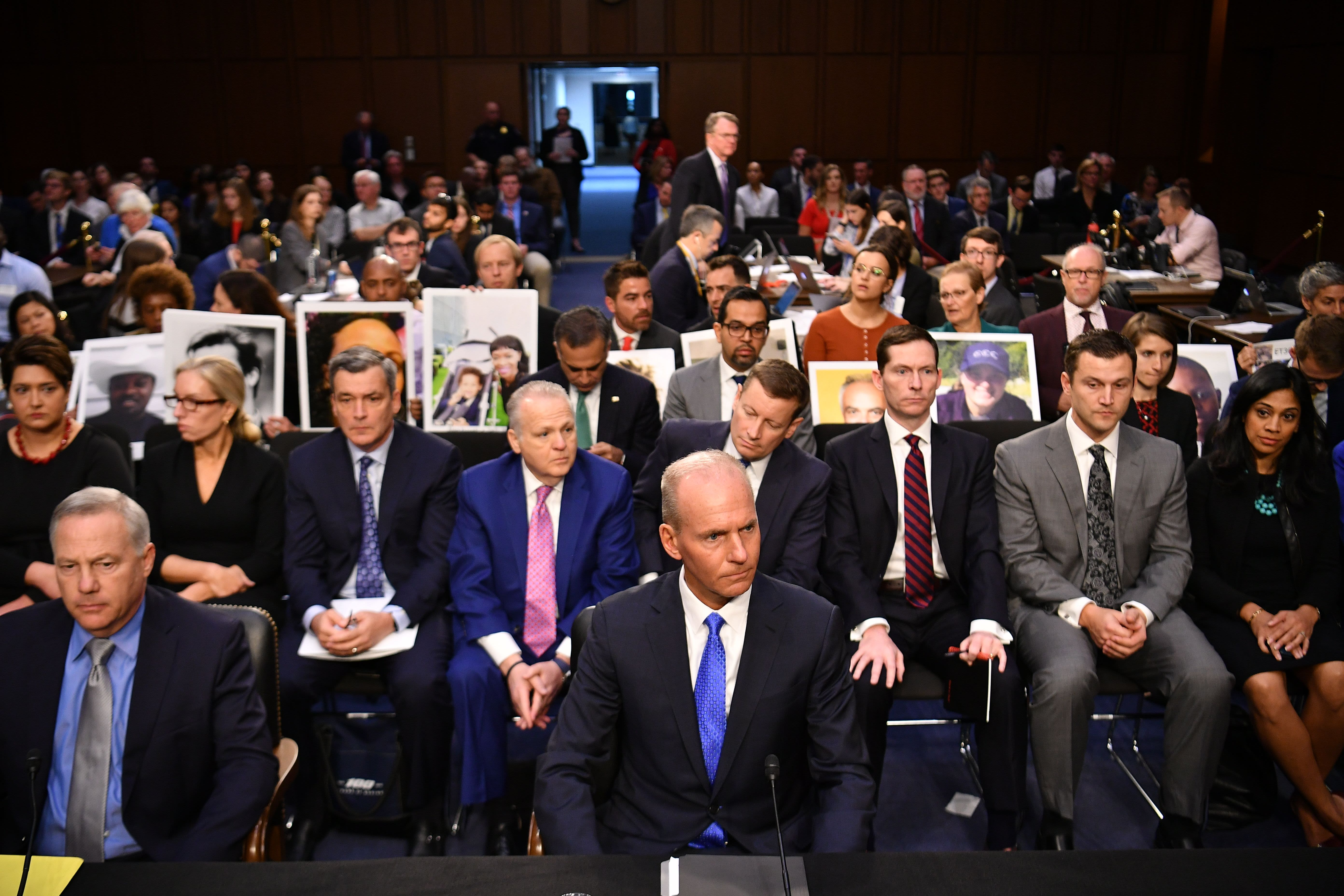 Watch Boeing CEO Dennis Muilenburg testify before the House on 737 Max crashes