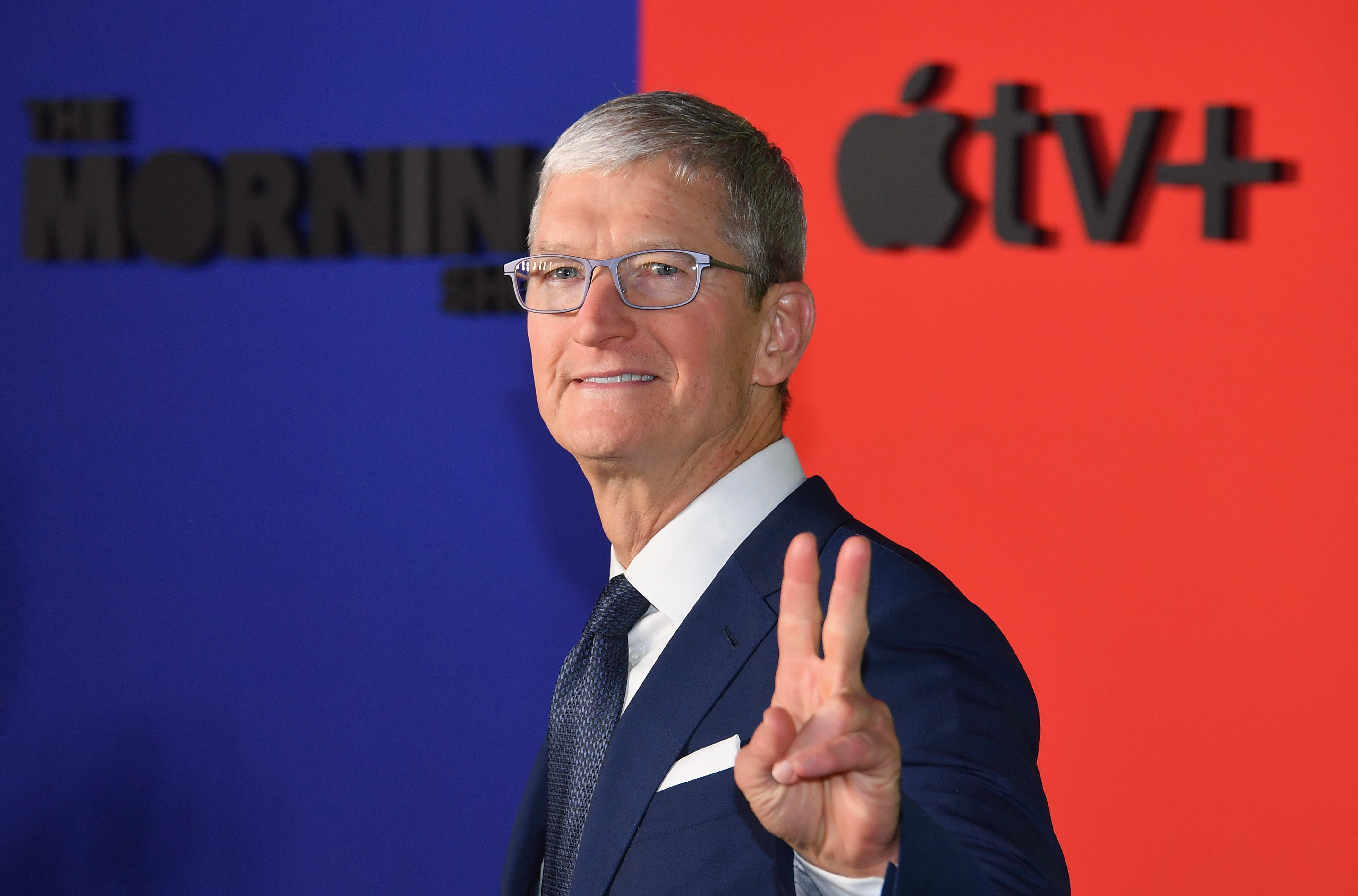Apple is set to report earnings after the bell