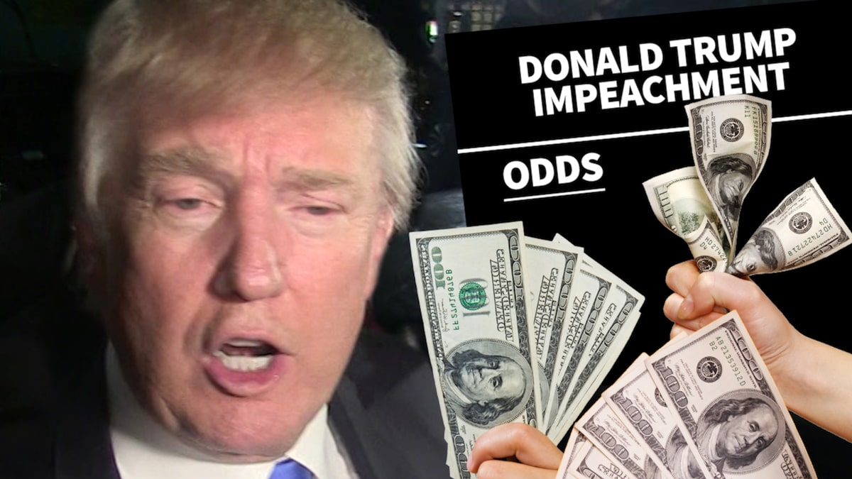 President Trump Impeachment Seems Likely According to Oddsmakers