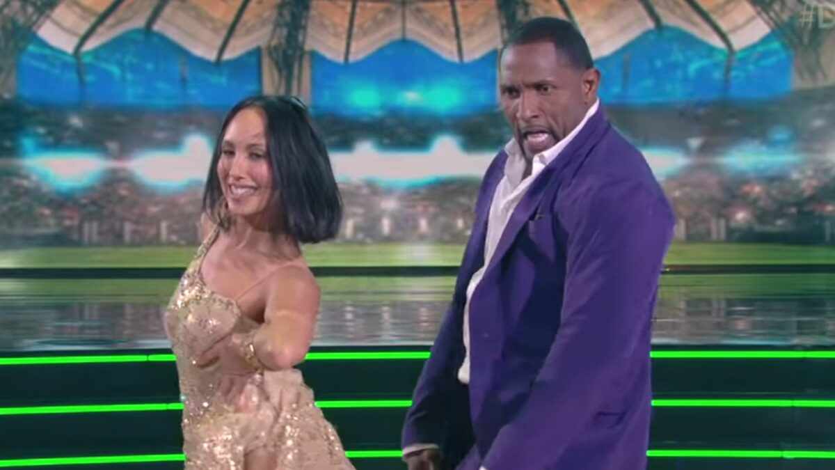 Ray Lewis Quits 'Dancing' Over Injury, Castmate Ally Brooke Sends Love
