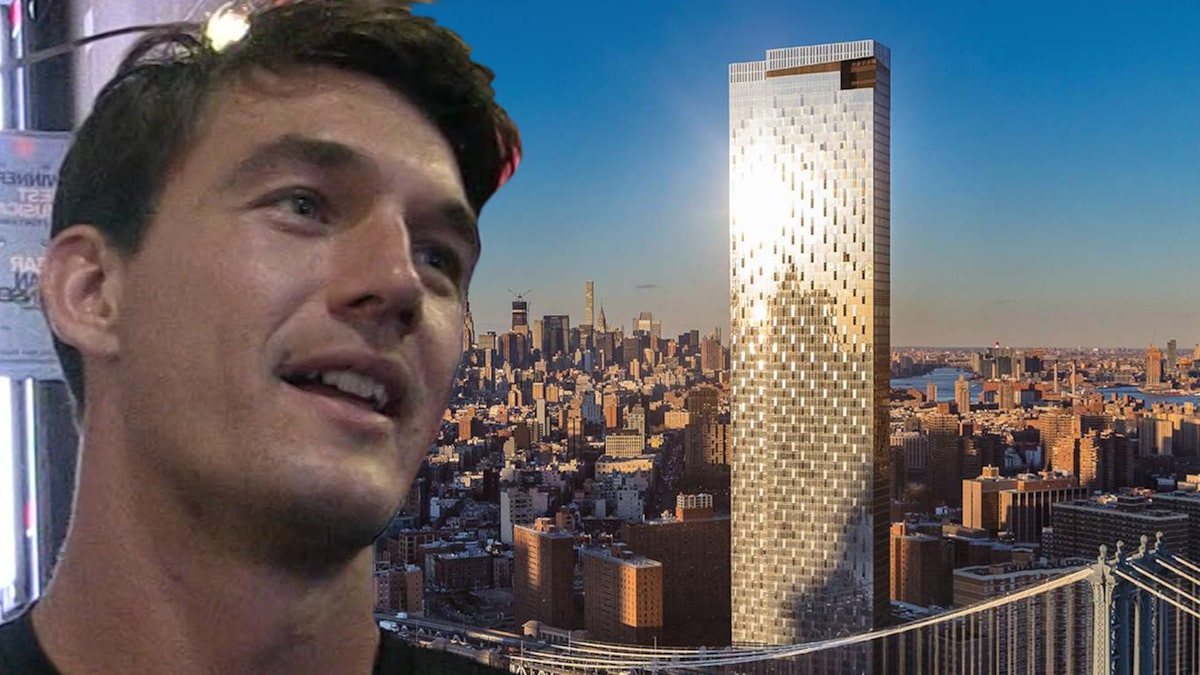 Tyler Cameron's Incredible NYC Bachelor Pad Is $7k Per Month
