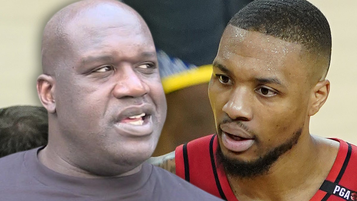 Shaq Drops Second Damian Lillard Diss Track, 'I Can See Your Tampon String'