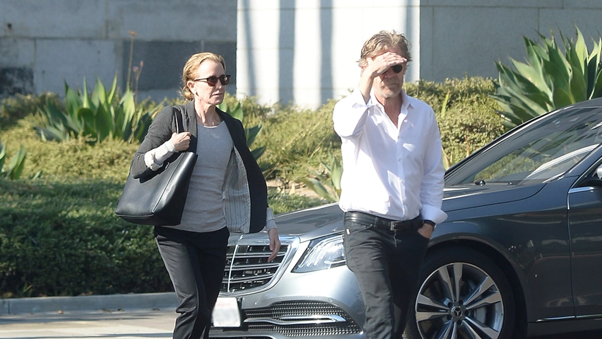 Felicity Huffman Looks Like She Means Business for Probation Meeting