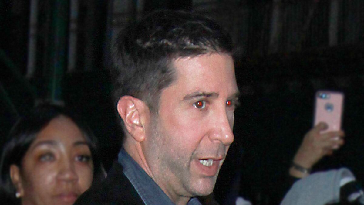 David Schwimmer's Home Gets Unwelcome Visit by Brick-Wielding Man
