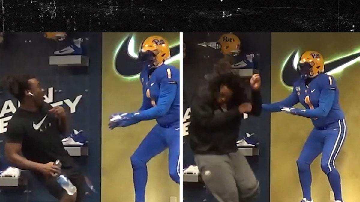 Pittsburgh Football Players Scared Crapless By Hilarious Halloween Prank