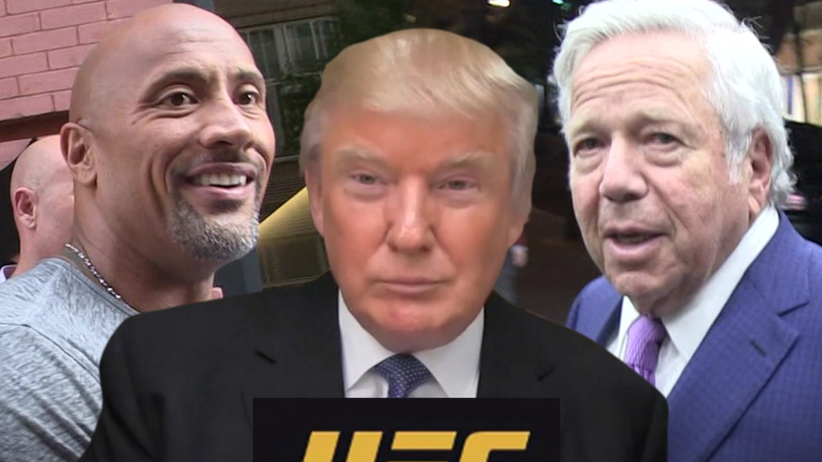 Donald Trump Will Be VIP at UFC 244, Topping Insane Celeb Guest List
