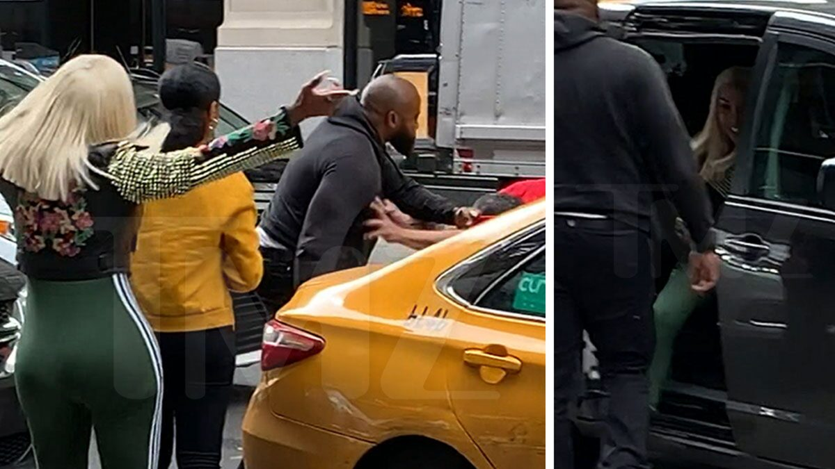 'Black Ink Crew' Star Sky Days Loses it on NYC Taxi Driver, on Video