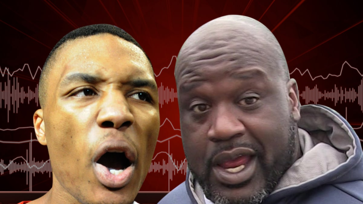 Damian Lillard Fires Back at Shaquille O'Neal In New Diss Track