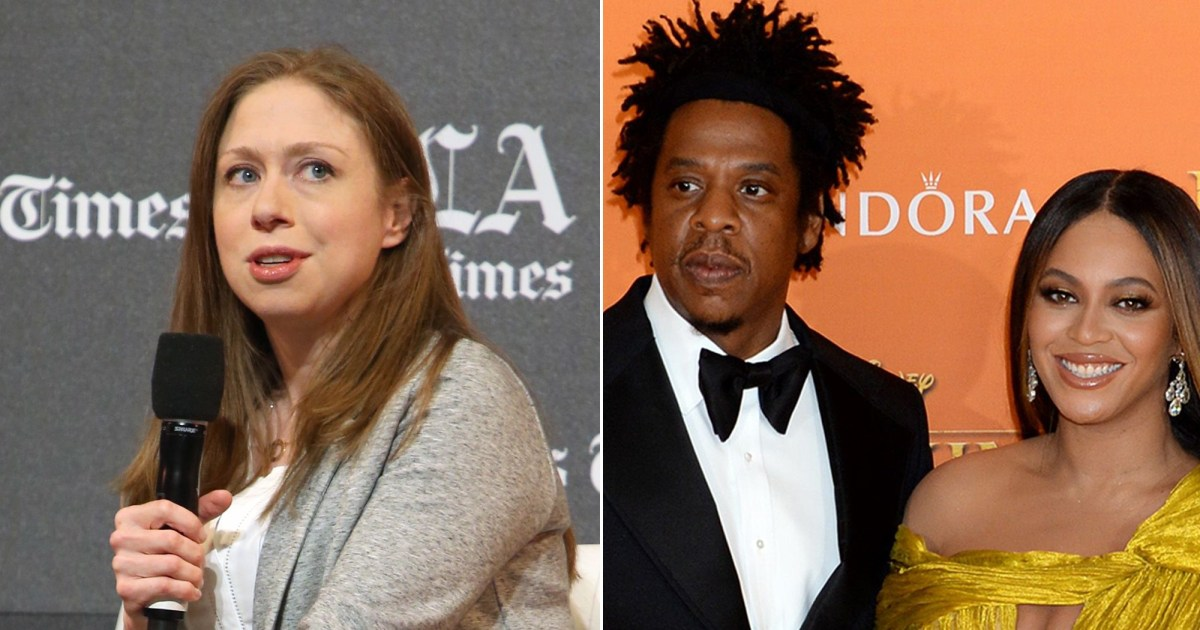 Chelsea Clinton Shades Jay-Z Over Reaction to Beyonce's Weight Loss