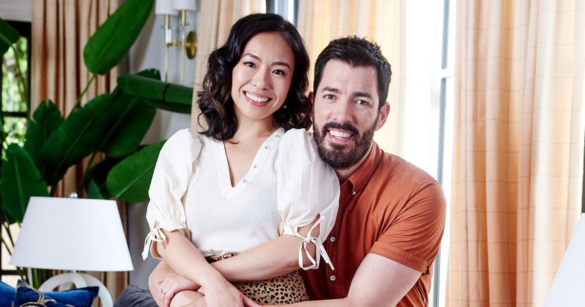 Why Drew Scott and Wife Linda Phan Painted Their Bedroom Walls Black