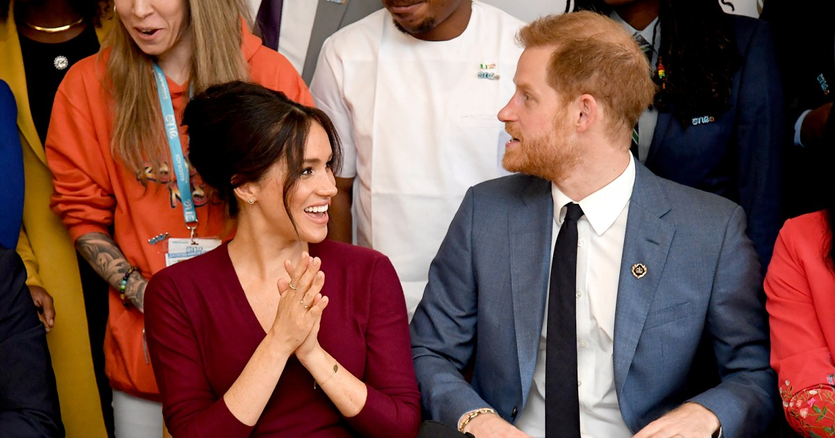 Duchess Meghan Jokes Harry Crashed the Party at Gender Equality Roundtable
