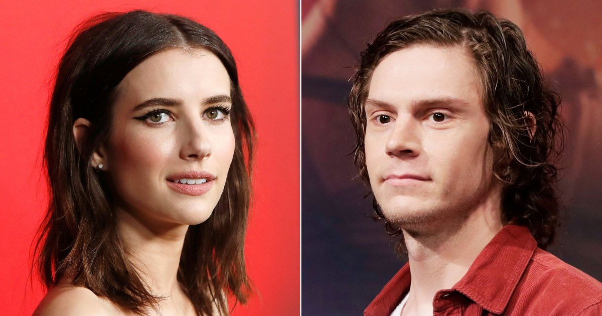 Emma Roberts Avoids Ex Evan Peters at 'American Horror Story' Party