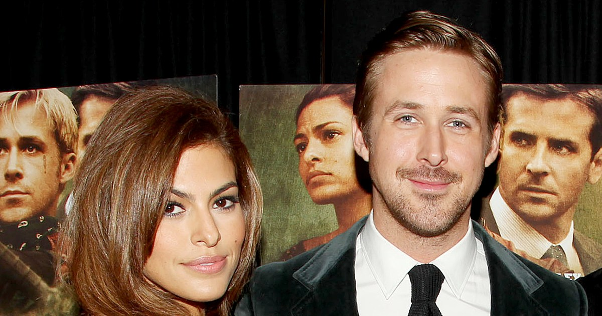 Eva Mendes Recalls Pretending Not to Be in Love With Ryan Gosling