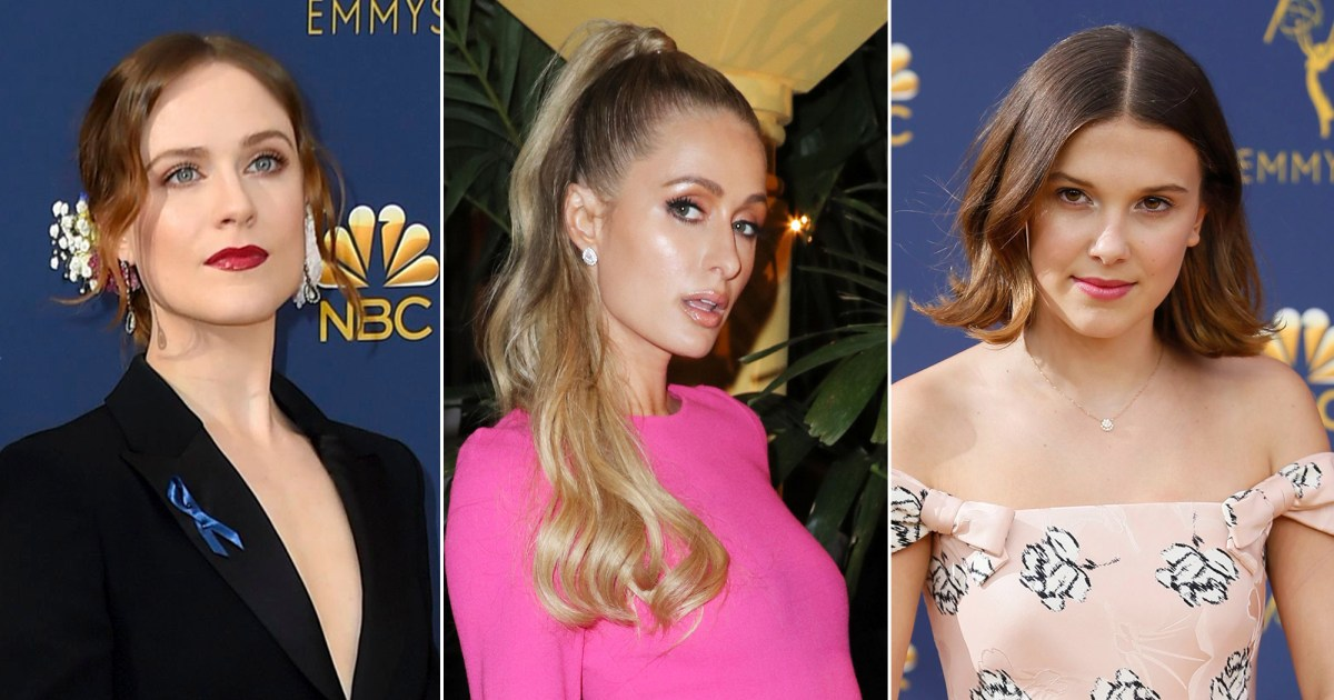 Evan Rachel Wood Calls Out Paris Hilton for Calling Millie Bobby Brown 'Hot'