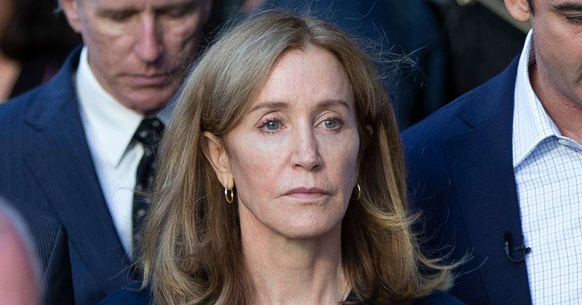 Felicity Huffman Released From Prison Early After Stint for College Scandal