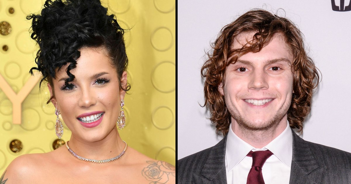 Halsey, Evan Peters Make Romance Instagram Official in Halloween Costumes