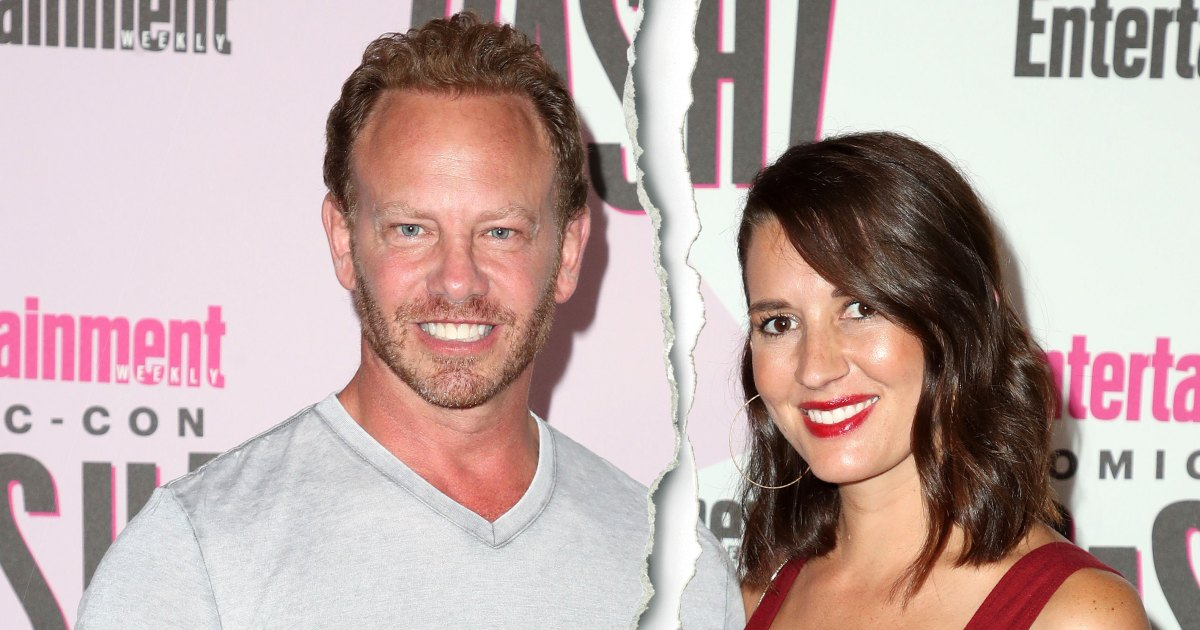 Ian Ziering and Wife Erin Ludwig Split After 9 Years of Marriage