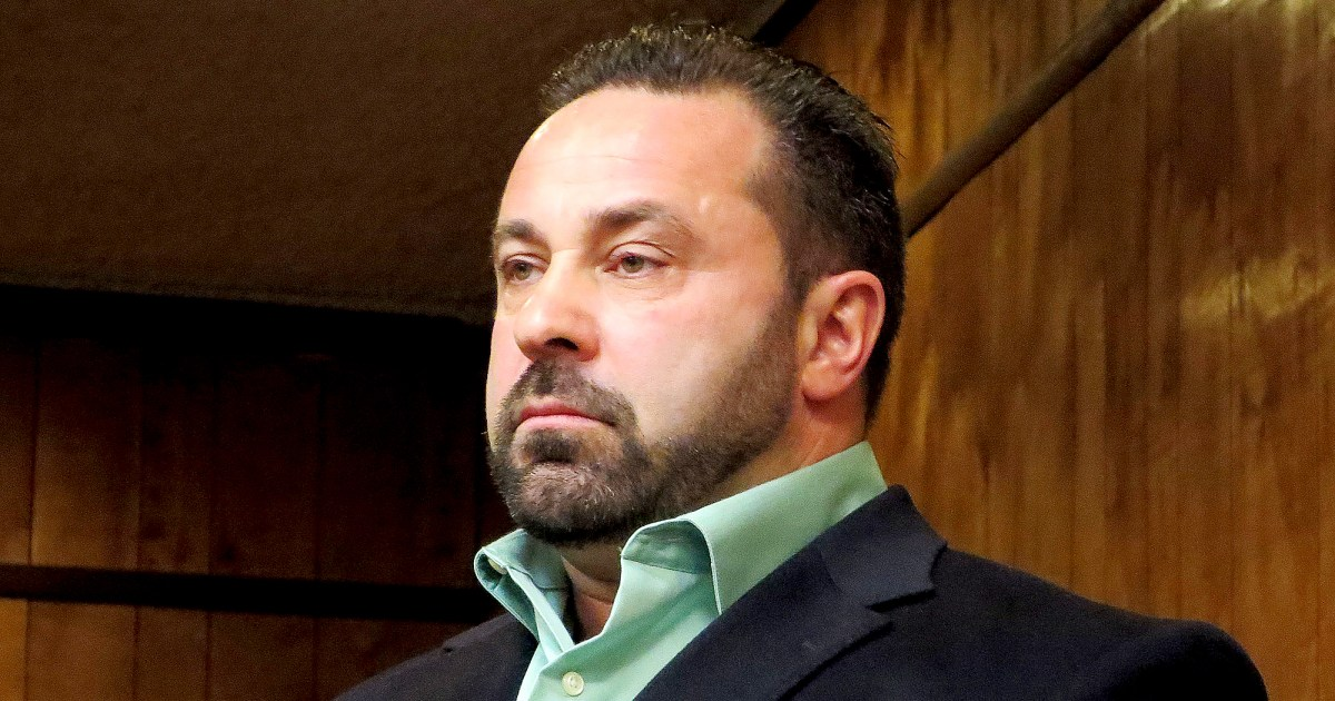 Joe Giudice's Shocking Transformation Revealed in First Photo Since ICE Release