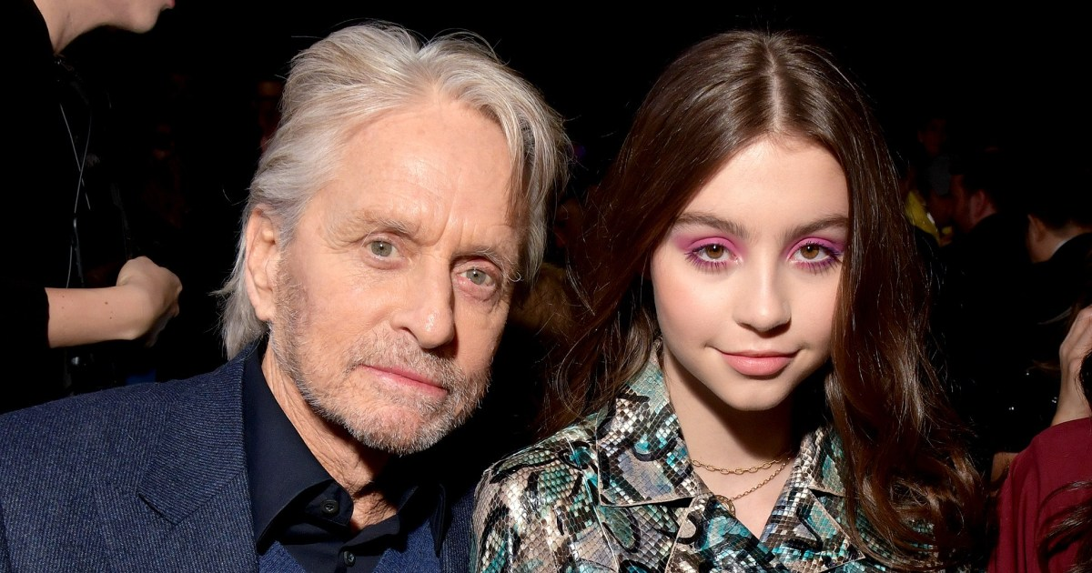 Michael Douglas Doesn't Want His Teenage Daughter to Date Someone Older