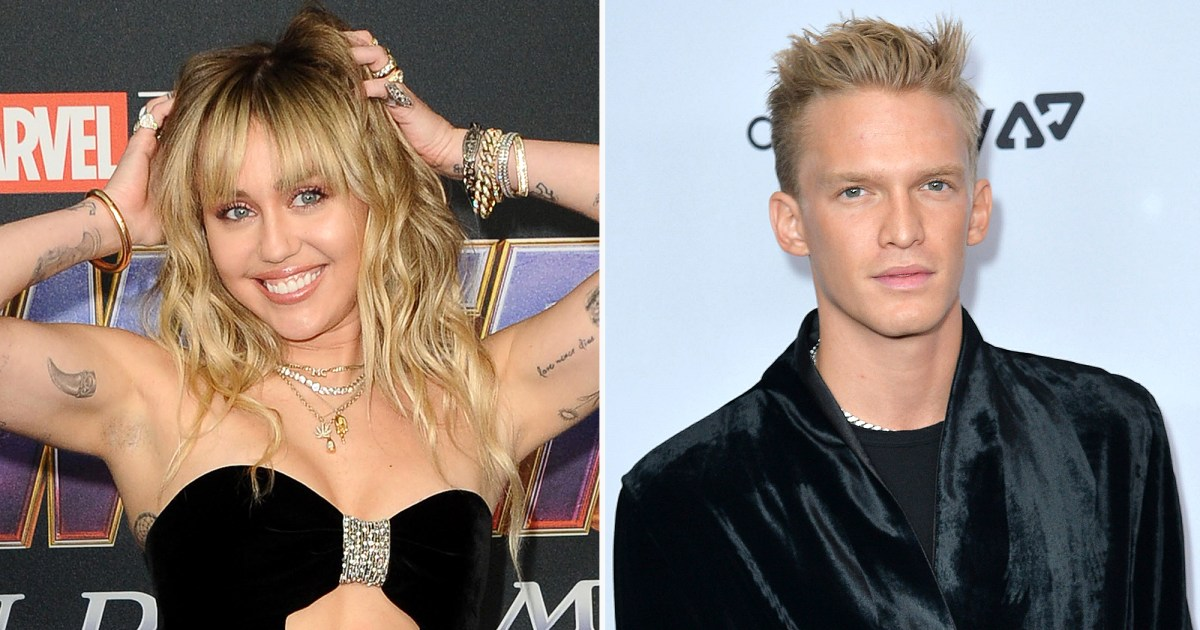 Miley Cyrus and Cody Simpson Sing Along to Love Song During Movie Night