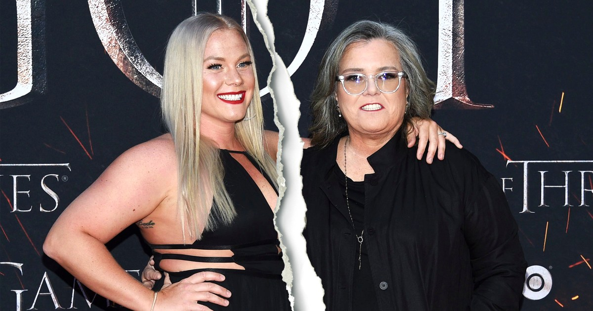 Rosie O'Donnell and Elizabeth Rooney Split After 2 Years of Dating