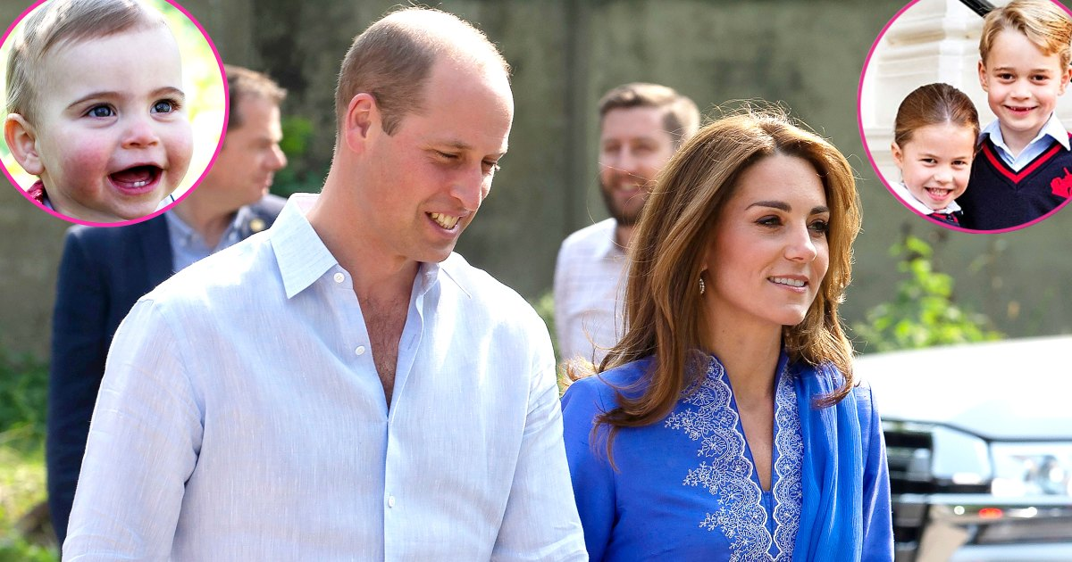 Will and Kate Call Their Kids Every Night Before Bed During Royal Tour