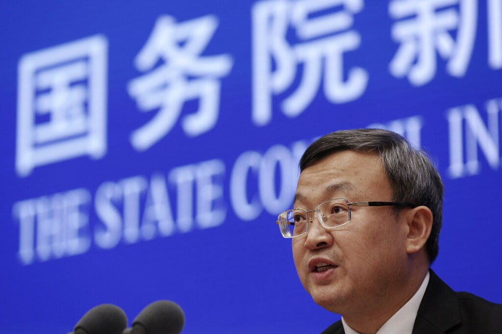 China says it will take steps to open its financial industry amid talks with Trump trade team