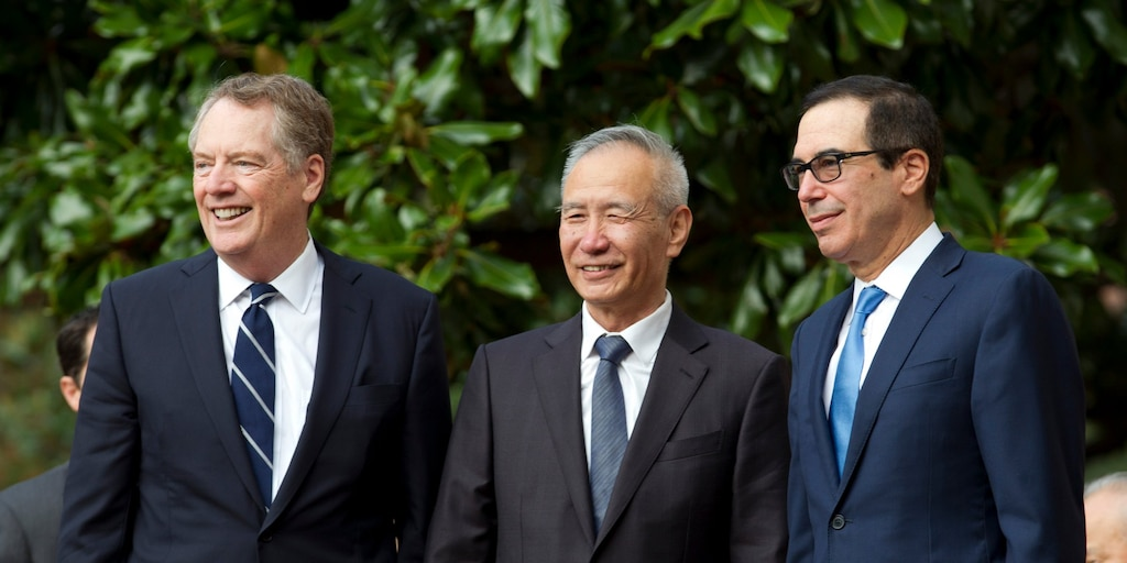 The US and China are reportedly close to finalizing parts of a trade deal
