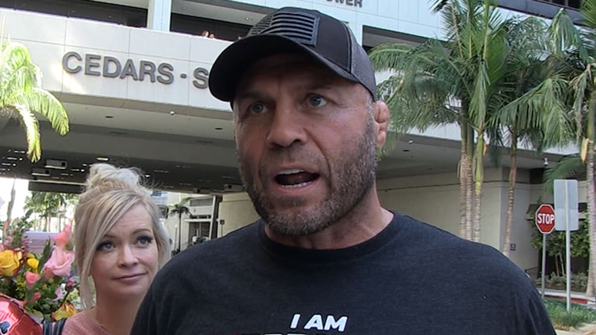 Randy Couture Walks Home From Hospital, 'Back to Work on Tuesday'