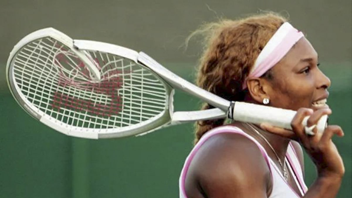 Serena Williams' Smashed-Up Racket From 2005 Wimbledon Hits Auction Block