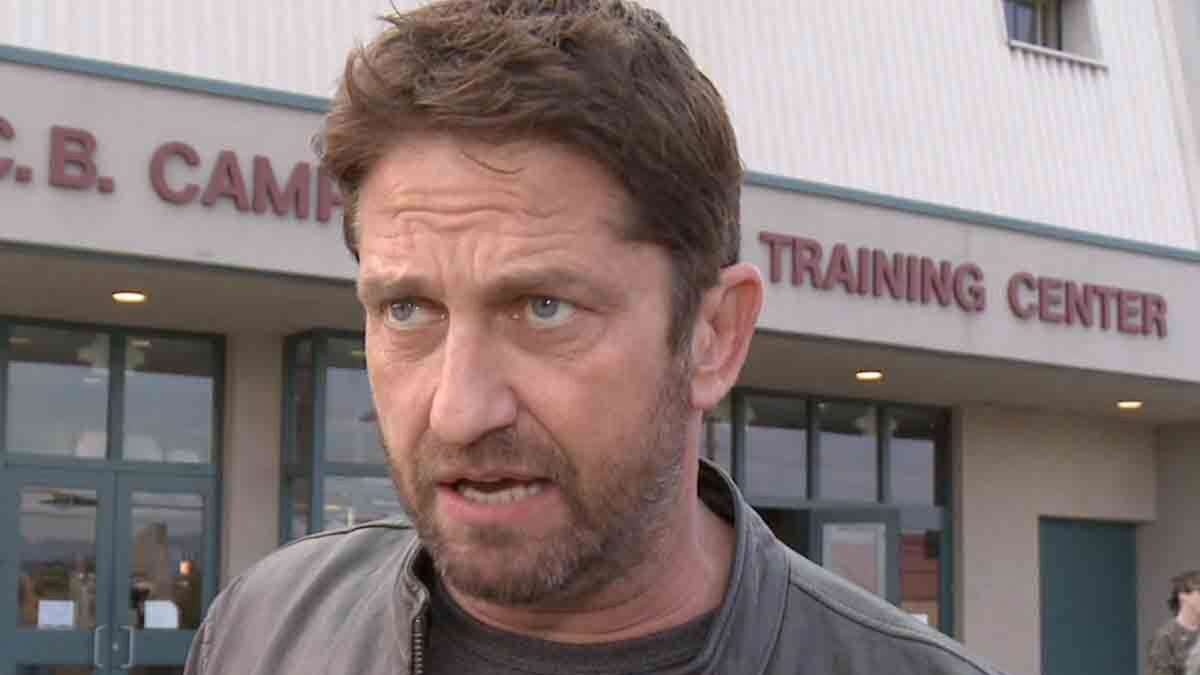 Gerard Butler Suing Other Driver in 2017 Motorcycle Accident