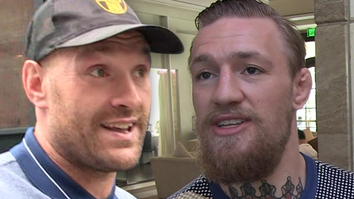 Tyson Fury Says He'll Train with Conor McGregor for MMA Debut