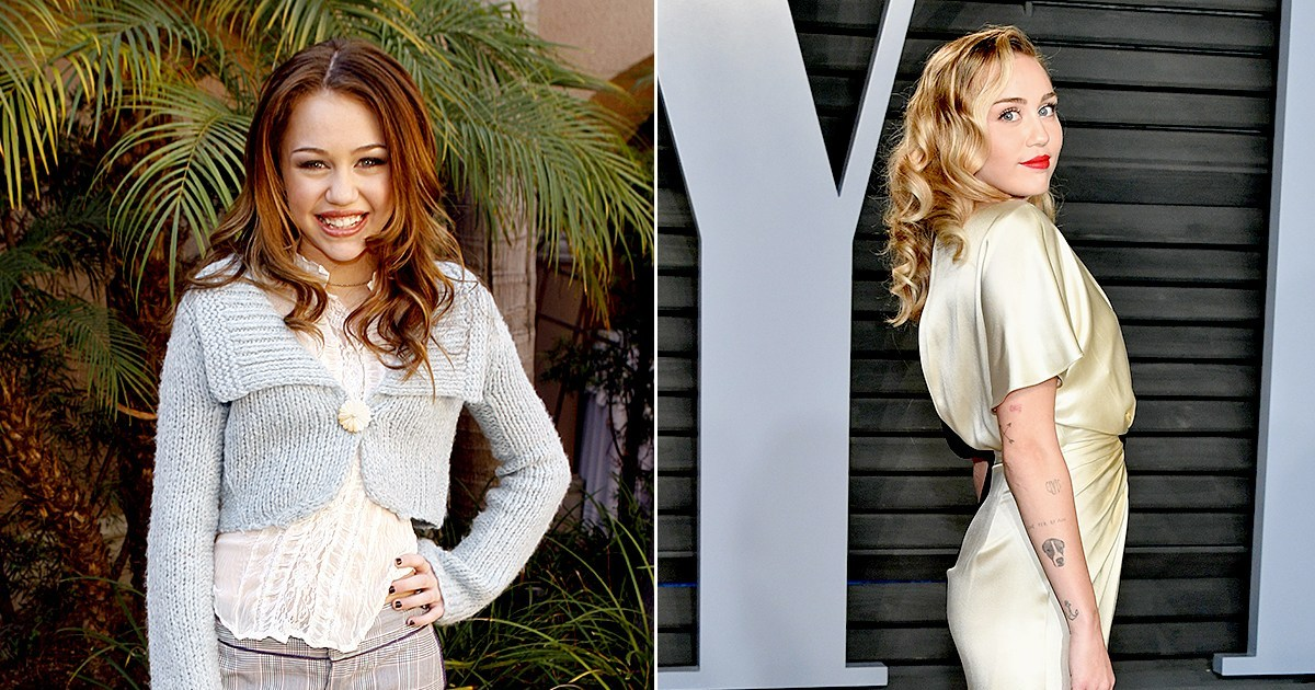 Miley Cyrus Through the Years: From 'Hannah Montana' to World Tours