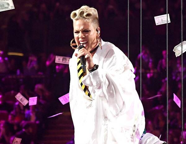 Celebrate PCAs People's Champion Pink With Her Best Live Performances That Were Just Like Fire
