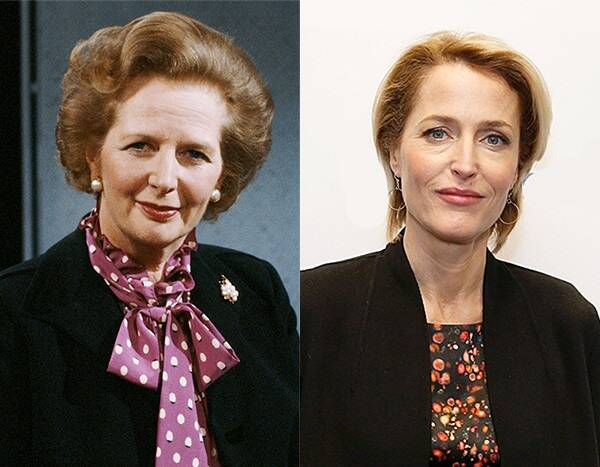 See Gillian Anderson's Transformation Into Margaret Thatcher for The Crown