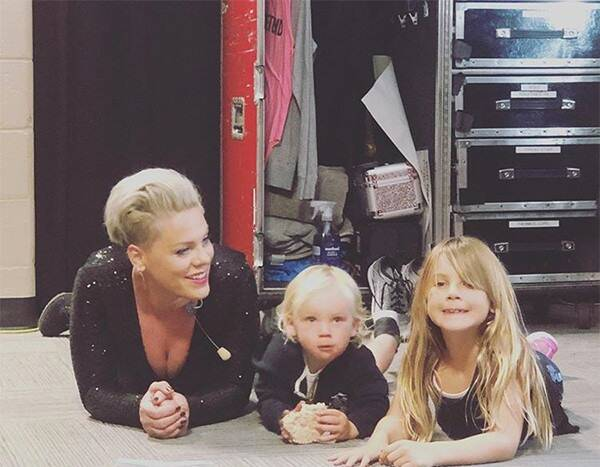 Pink Shines a Light on the Struggles of Touring as a Mom