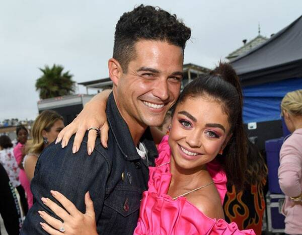 Sarah Hyland and Wells Adams Throw Intimate Engagement Party With Their Loved Ones