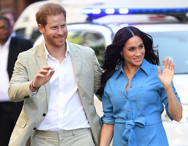 Prince Harry and Meghan Markle Photo Missing From Buckingham Palace Table