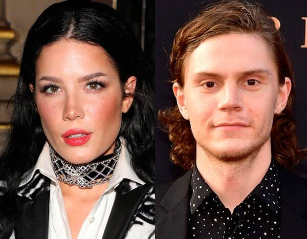 Halsey and Evan Peters Show PDA in Coordinating Costumes at Her Halloween Party