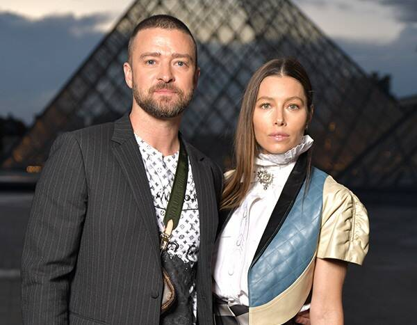 Justin Timberlake Is Totally Turned on By Jessica Biel's '80s Look