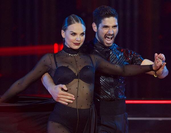 """Why Hannah Brown Is Just """"Great Friends"""" With Dancing With the Stars Partner Alan Bersten"""