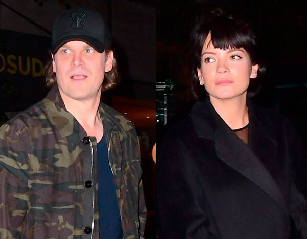 David Harbour Brings Lily Allen and His Dad to SNL After-Party