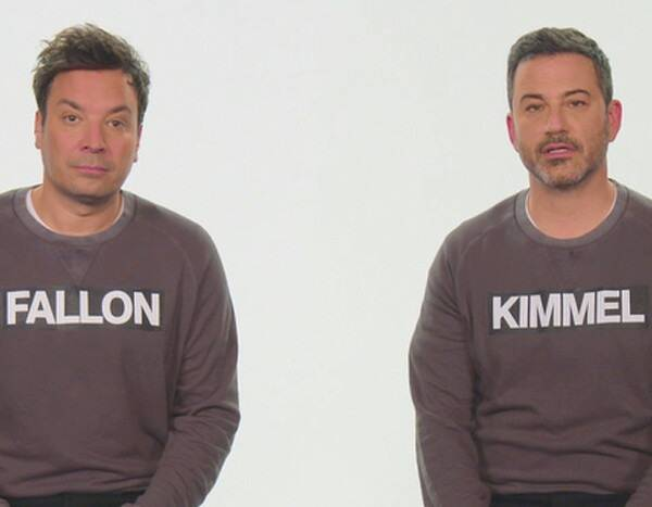 Jimmy Fallon and Jimmy Kimmel Aren't the Same Person–Or Are They?