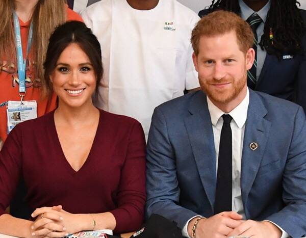 Meghan Markle Has the Sweetest Reaction to Prince Harry Crashing Her Gender Equality Discussion