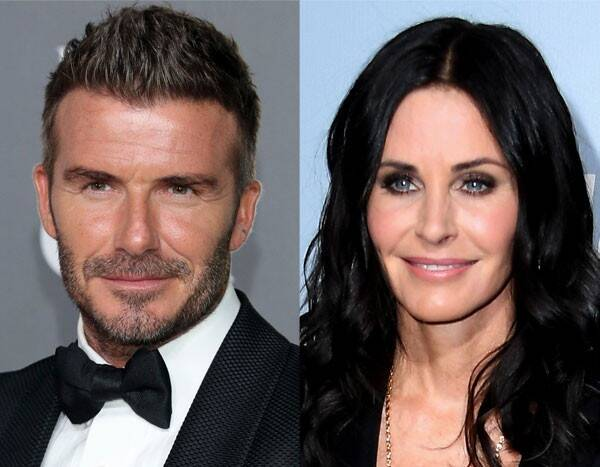 David Beckham and Courteney Cox Are the Modern Family Duo We Never Knew We Needed
