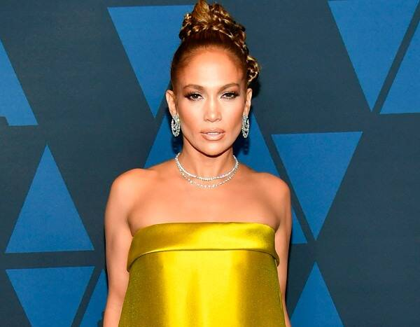 Jennifer Lopez Proves She Is Hollywood's Golden Girl at the 2019 Governors Awards