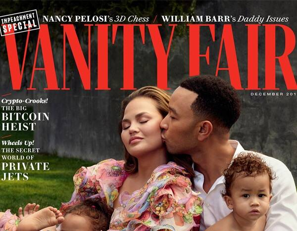 Chrissy Teigen and John Legend's Kids Steal the Show in Family's Vanity Fair Cover