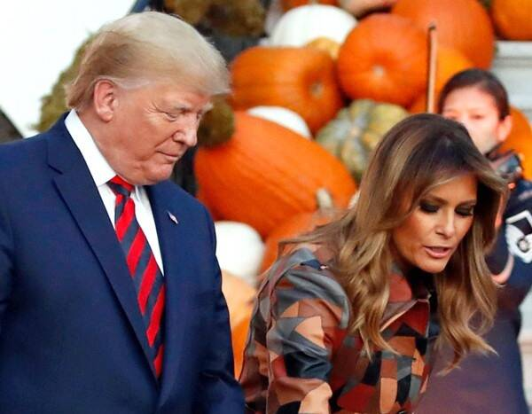 The Internet Can't Stop Talking About President Donald Trump's Trick-or-Treating Fail