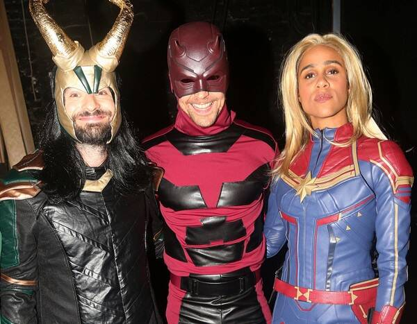 Tom Hiddleston and Charlie Cox Switch Marvel Costumes for Halloween and the Results Are Spectacular